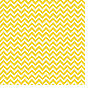 Yellow And White Chevron Pattern