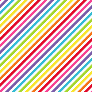 Rainbow Diagonal Stripes Pattern