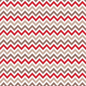Red And Brown Chevron Pattern