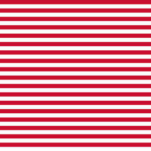 Red And White Striped Pattern
