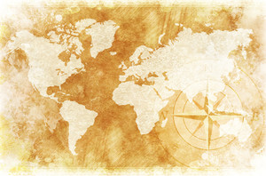 투박한 세계 지도