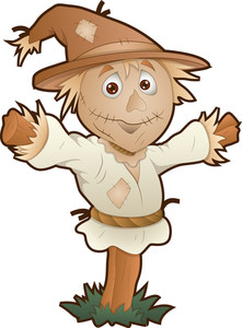 Scarecrow - Cartoon Character