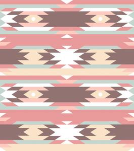 アステカスタイルでシームレスな幾何学的パターン