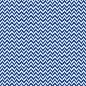블루 셰브론 패턴