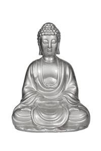 실버 부처님 동상