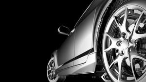 スタイリッシュな車のモデル