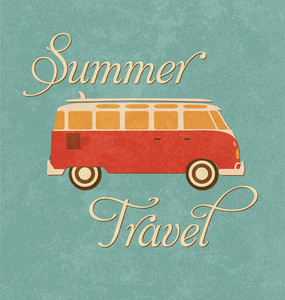 Summer Travel Design - Camper Van