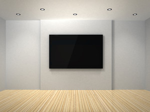 Tv In The White Room