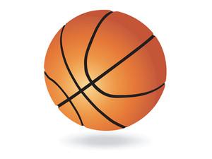 ベクトルバスケットボールボール