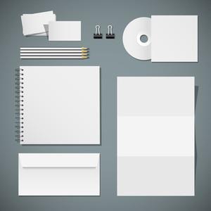 Vector Design von Unternehmensvorlagen