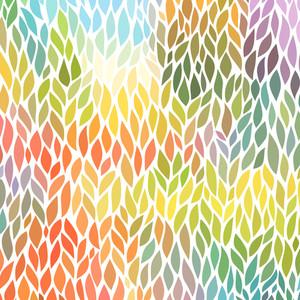ベクトルのシームレスな抽象手描きパターン
