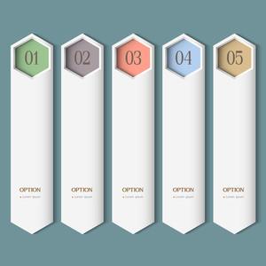 Vertical Trendy Design Template