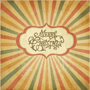 Vintage Christmas Template