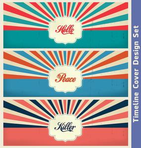 Vintage Design Template | Cover Design Template Set