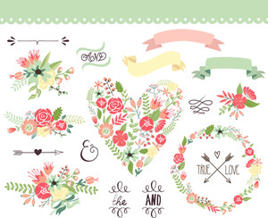 Wedding Set Graphic