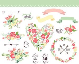 Hochzeit Graphic Set