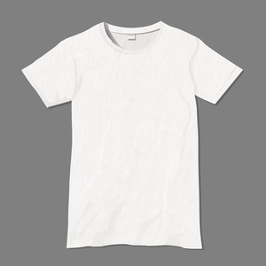Blanc Vector T-shirt Modèle de conception