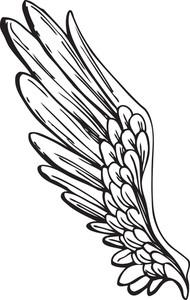날개 벡터 요소