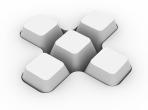 3d Computer Buttons