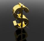 Dollar Sign As Symbol For Money Or Cash