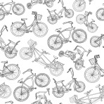 Seamless Bicycle Pbackground