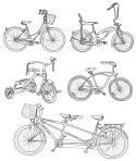 ヴィンテージ自転車セット