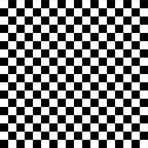 White And Black Checkerboard Pattern