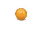 Whole Orange On White Background